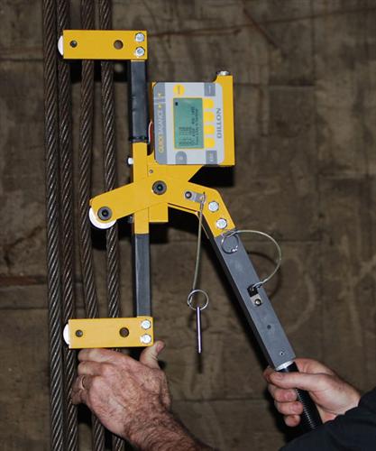 Ứng dụng đo lực căng dây co ,cáp trong ngành Viễn Thông